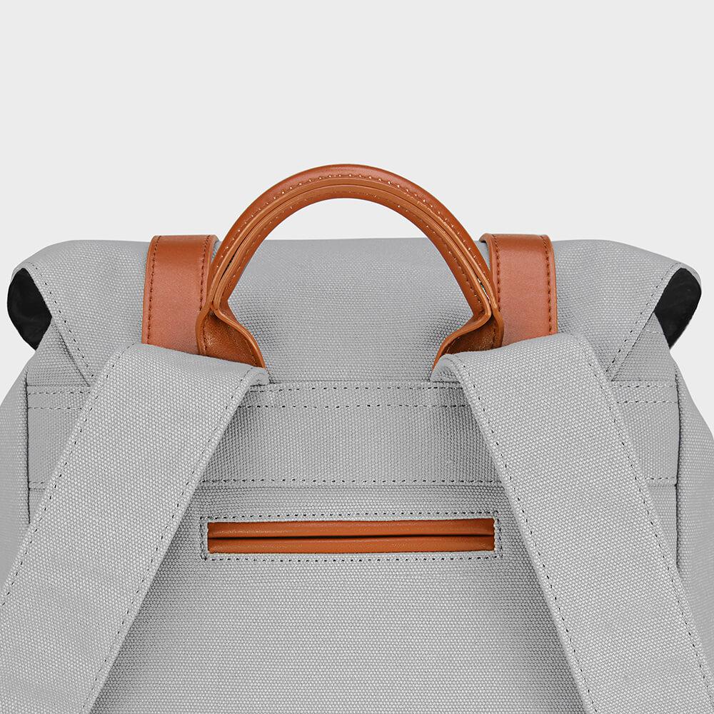 GASTON LUGA|Classic 經典後背包(時尚灰/咖啡棕)