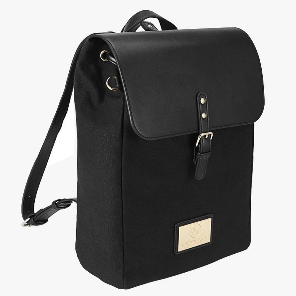 GASTON LUGA|Classy 雙肩後背包 經典黑