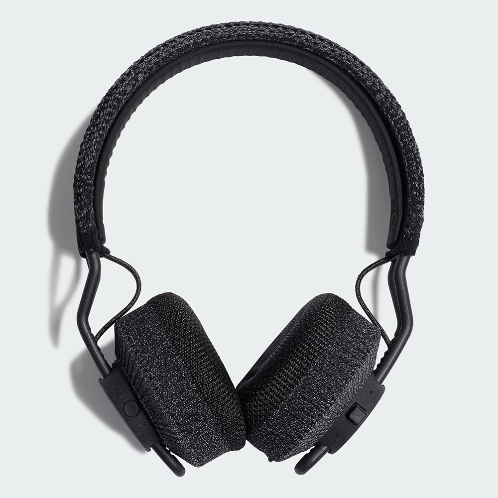 Adidas RPT-01 耳罩式藍牙運動耳機(夜晚灰)