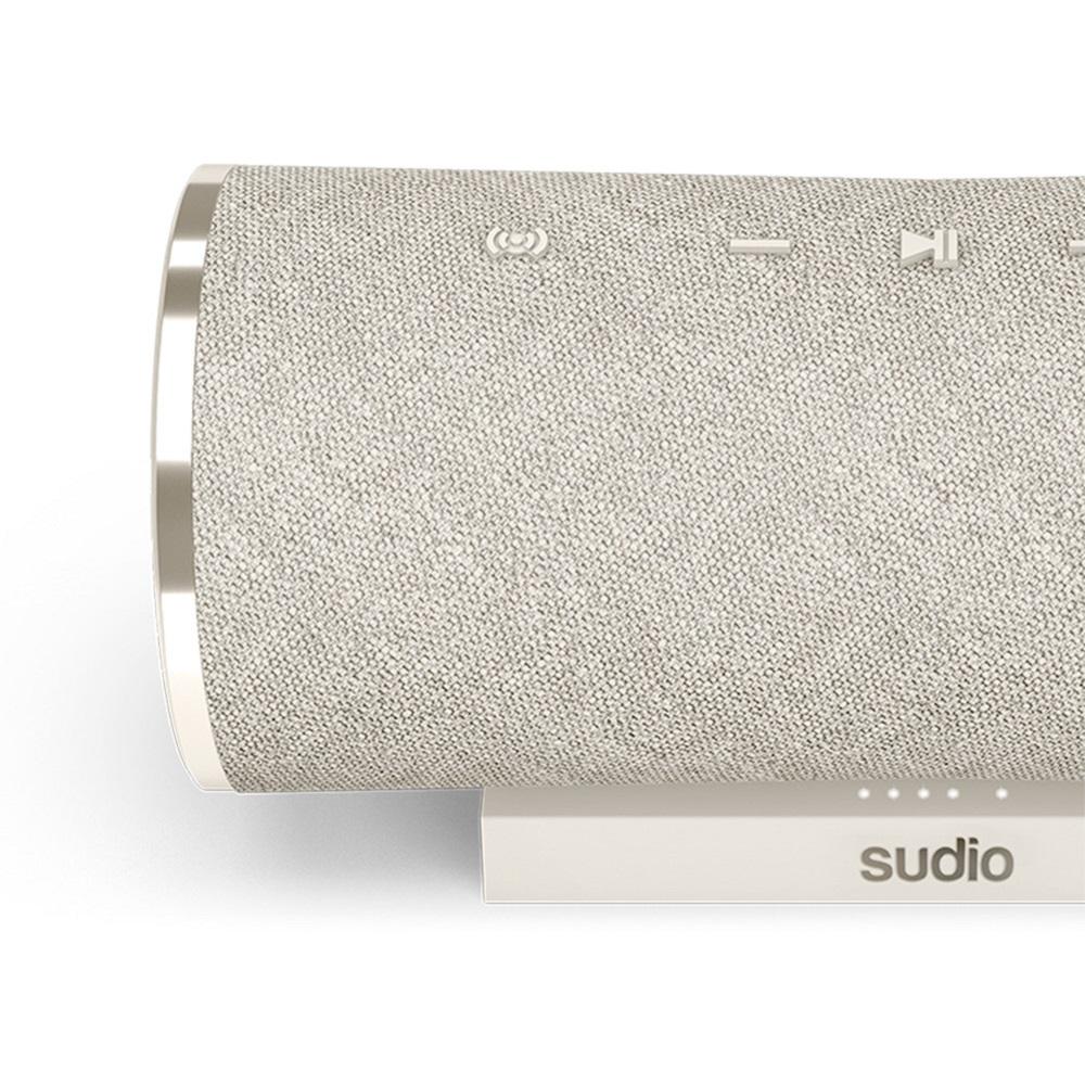 SUDIO Femtio 無線藍牙喇叭(銀灰)
