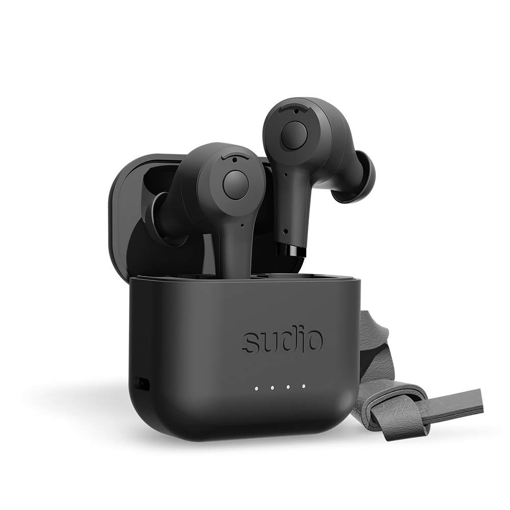 SUDIO|ETT 真無線抗噪藍牙耳機(黑)