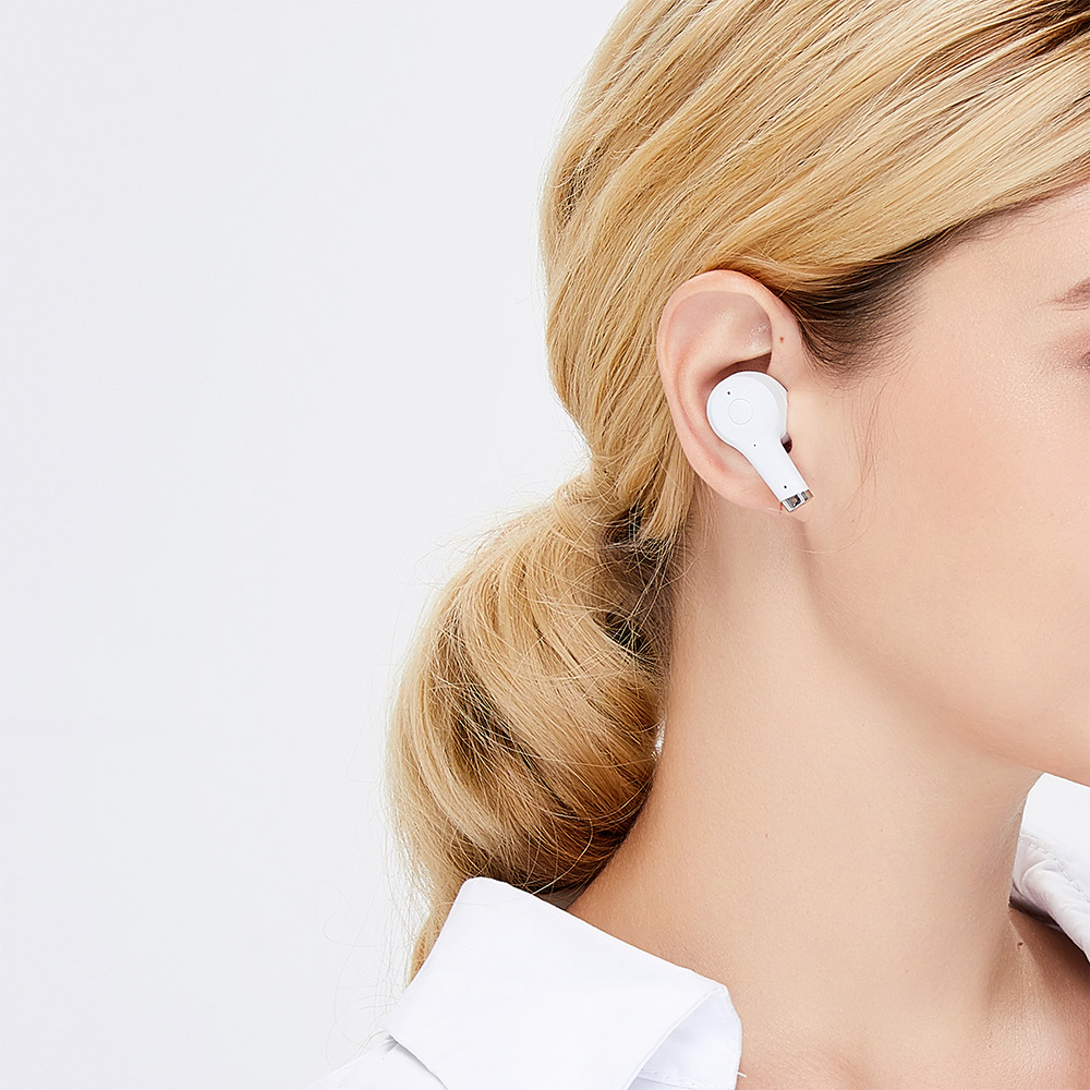 SUDIO|ETT 真無線抗噪藍牙耳機(白)