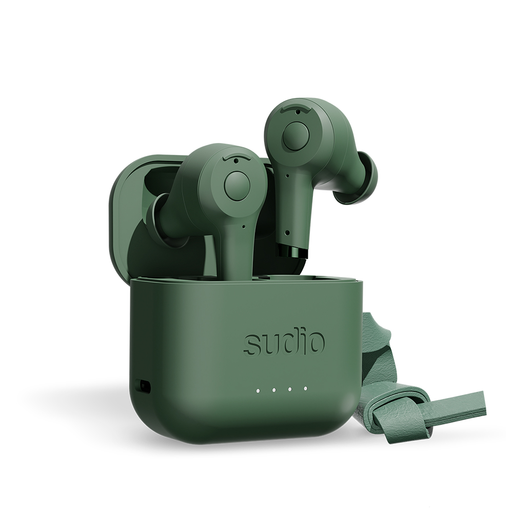 SUDIO|ETT 真無線抗噪藍牙耳機(綠)