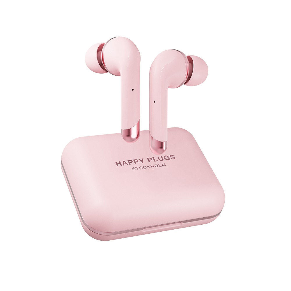 Happy Plugs|Air 1 Plus In-Ear 真無線藍牙耳道式耳機-粉色金 PinkGold
