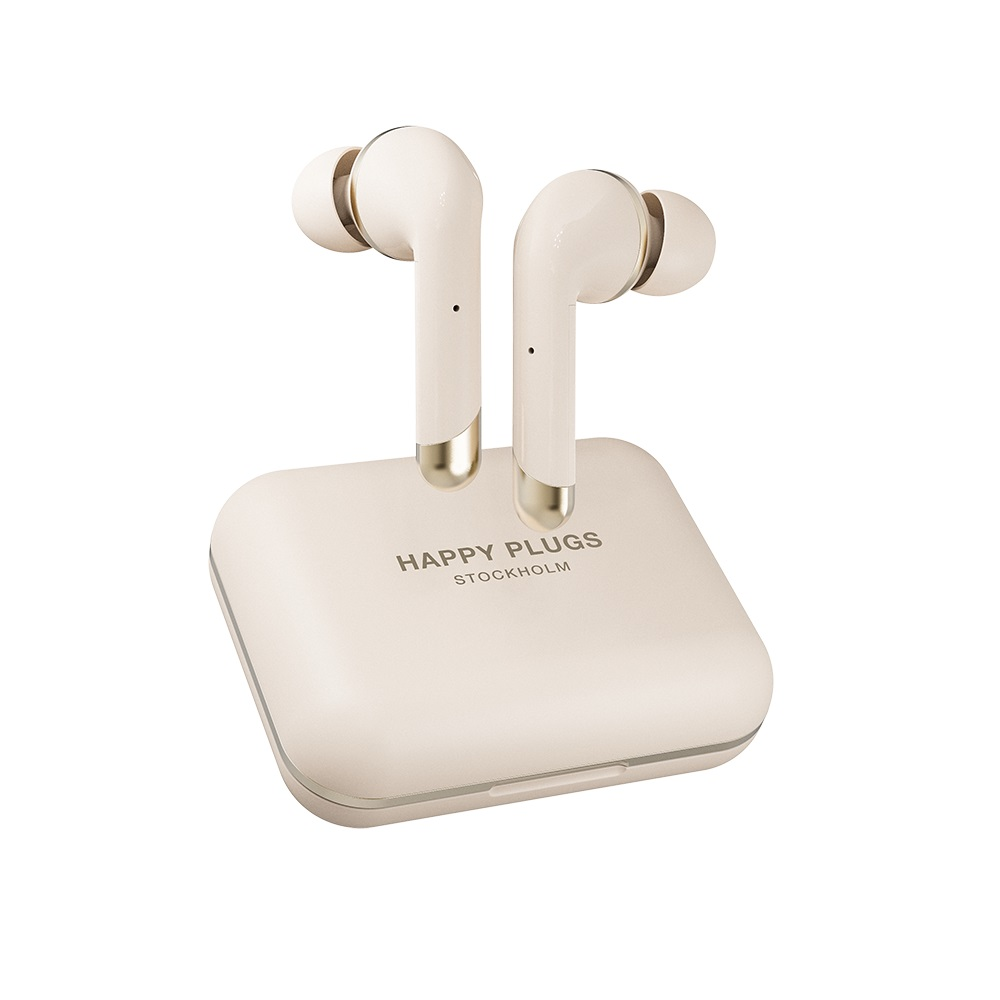 Happy Plugs|Air 1 Plus In-Ear 真無線藍牙耳道式耳機-香檳金 Gold