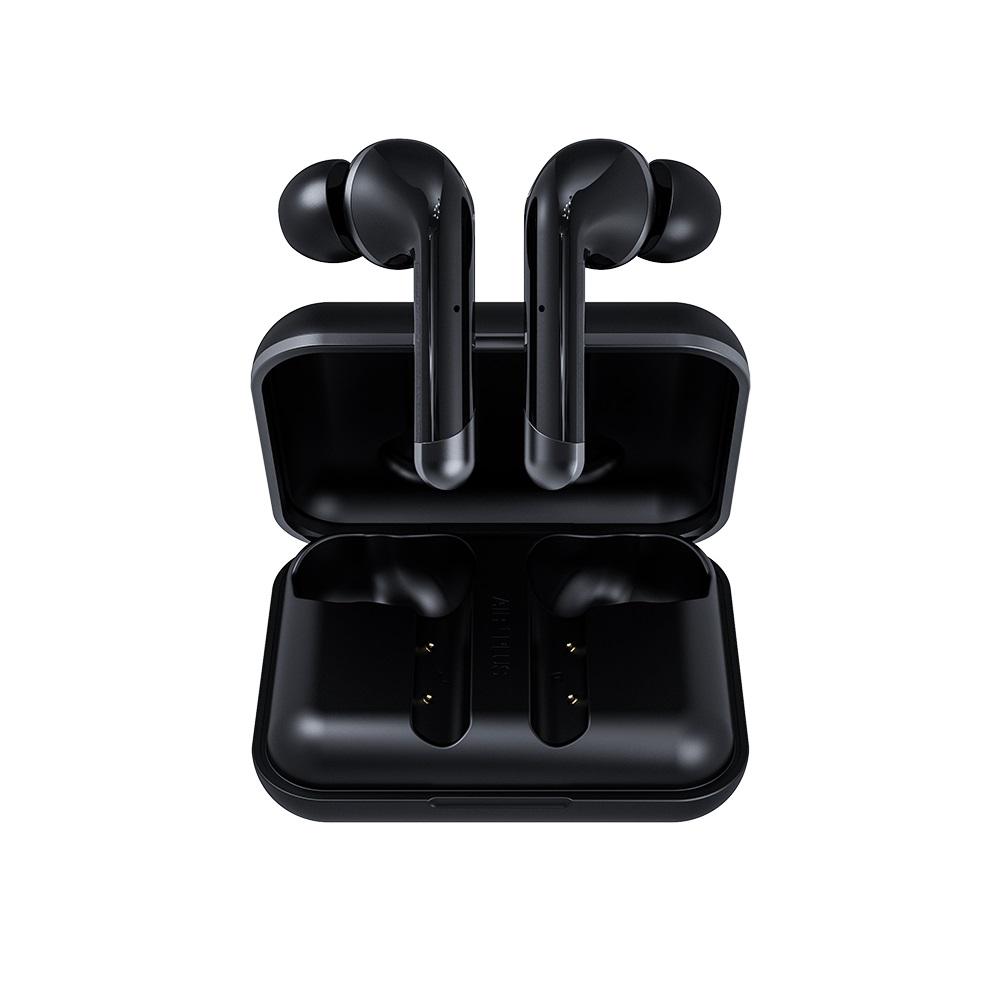 Happy Plugs Air 1 Plus In-Ear 真無線藍牙耳道式耳機-經典黑 Black