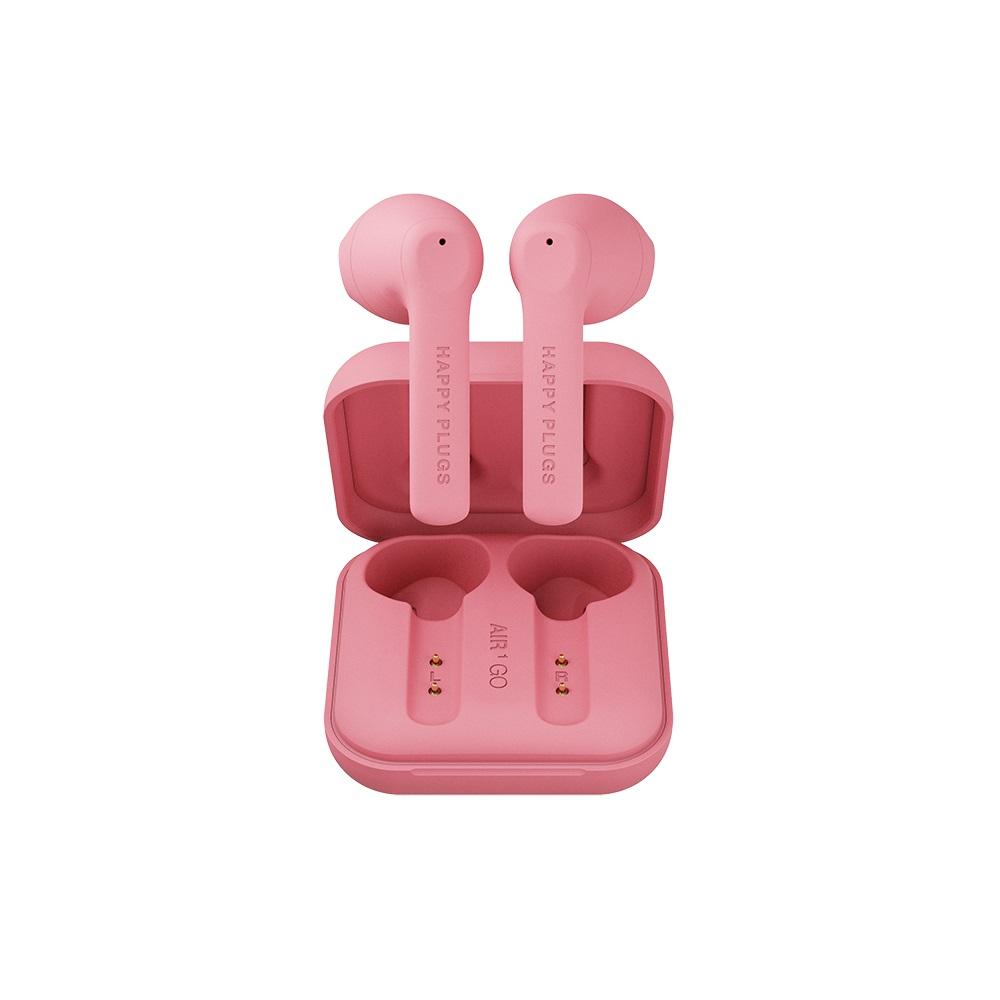 HAPPY PLUGS Air 1 Go 真無線藍牙耳機 - 蜜桃粉 Peach