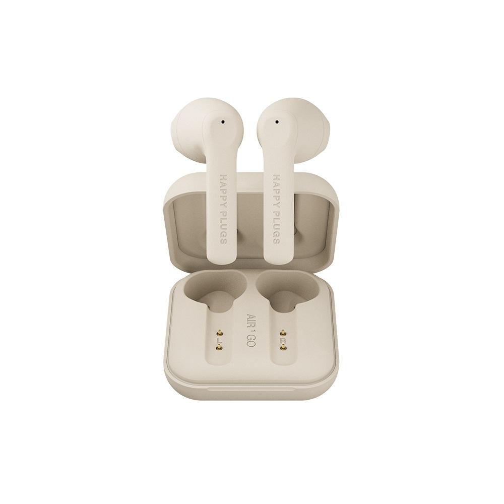 HAPPY PLUGS Air 1 Go 真無線藍牙耳機 - 燕麥奶茶 Nude