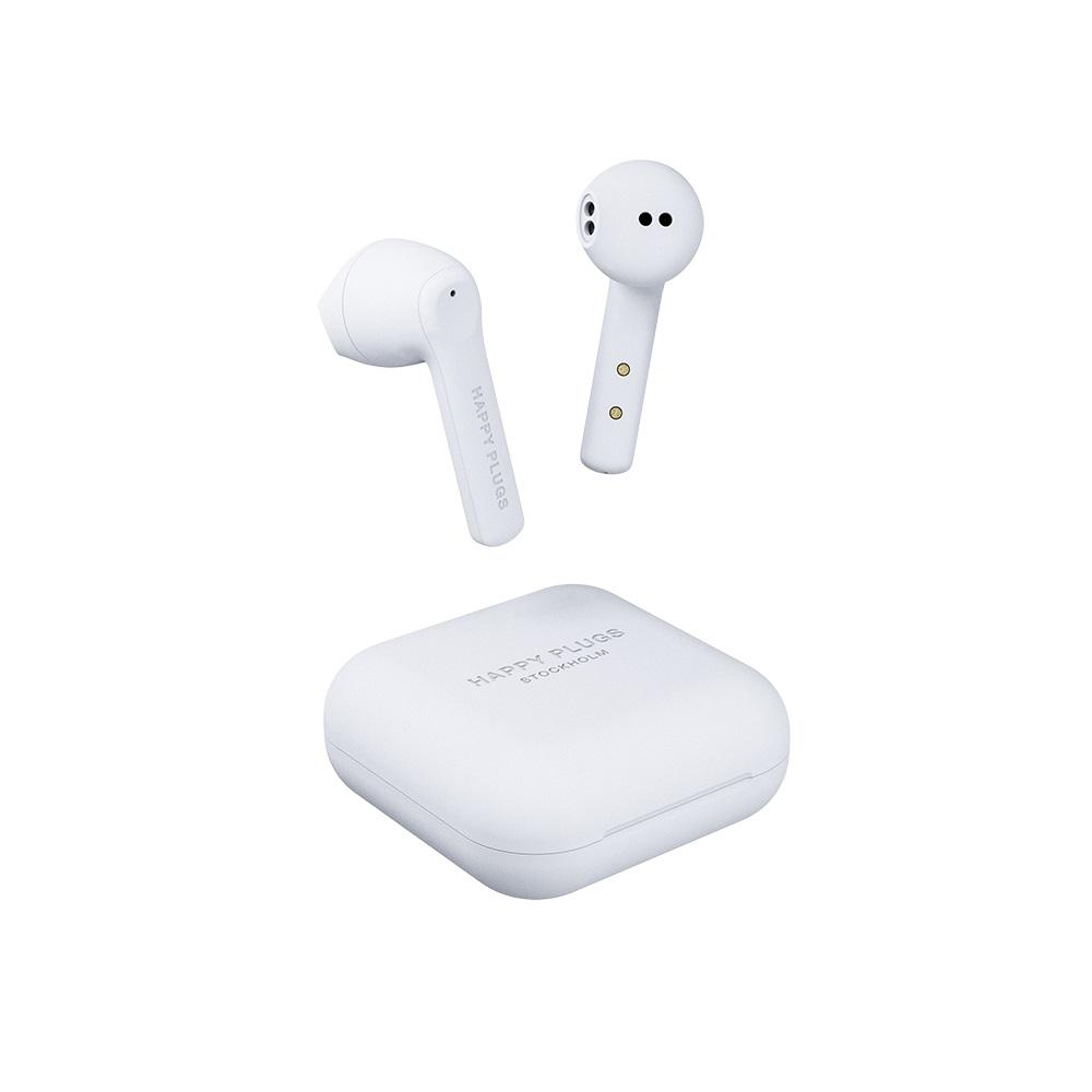 HAPPY PLUGS Air 1 Go 真無線藍牙耳機 - 柔霧白 White