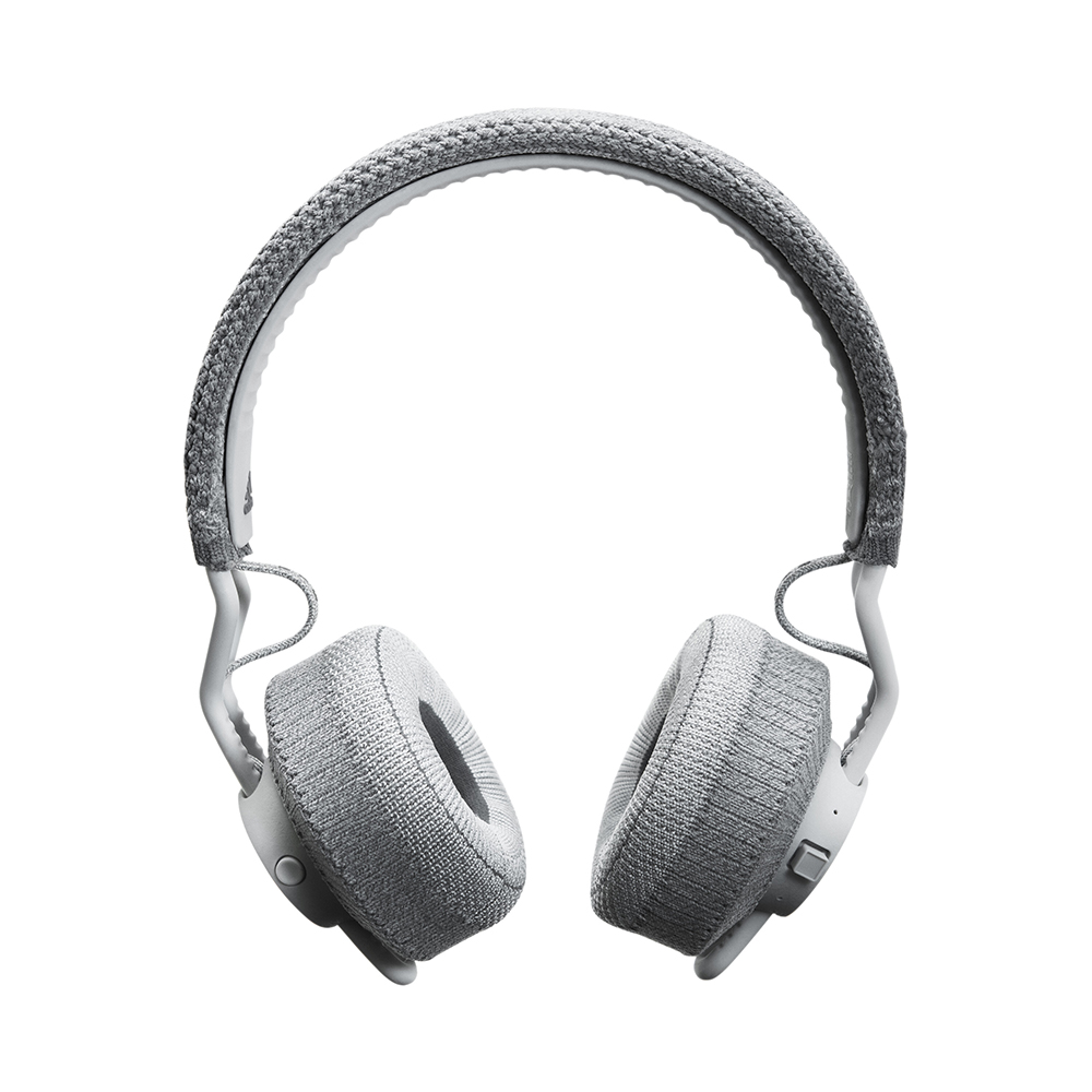 Adidas|RPT-01 耳罩式藍牙運動耳機(淺灰)