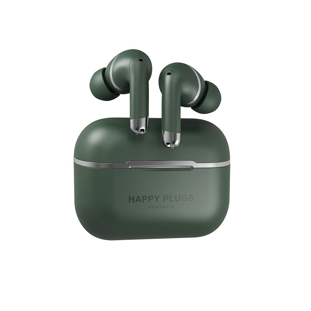 HAPPY PLUGS Happy Plugs Air 1 ANC 真無線降噪藍牙耳機(軍綠色)
