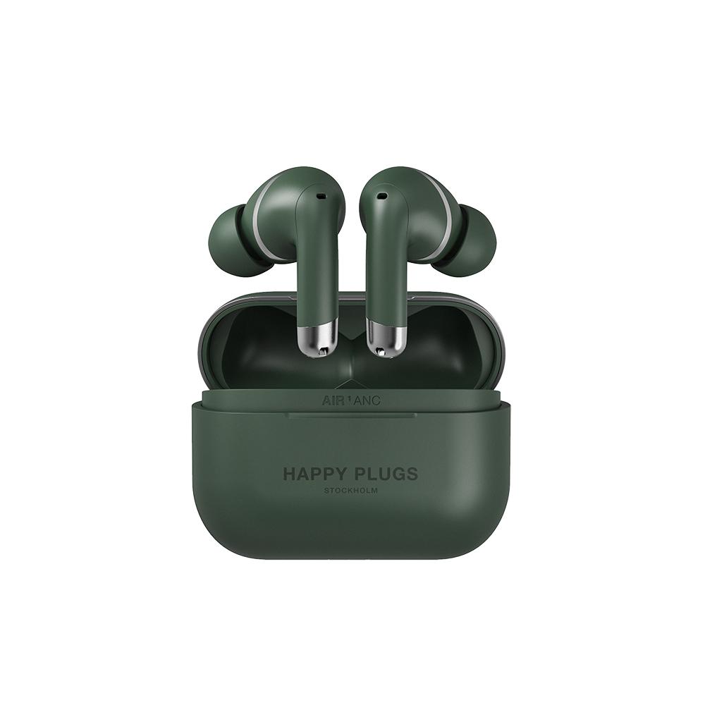 HAPPY PLUGS|Happy Plugs Air 1 ANC 真無線降噪藍牙耳機(軍綠色)