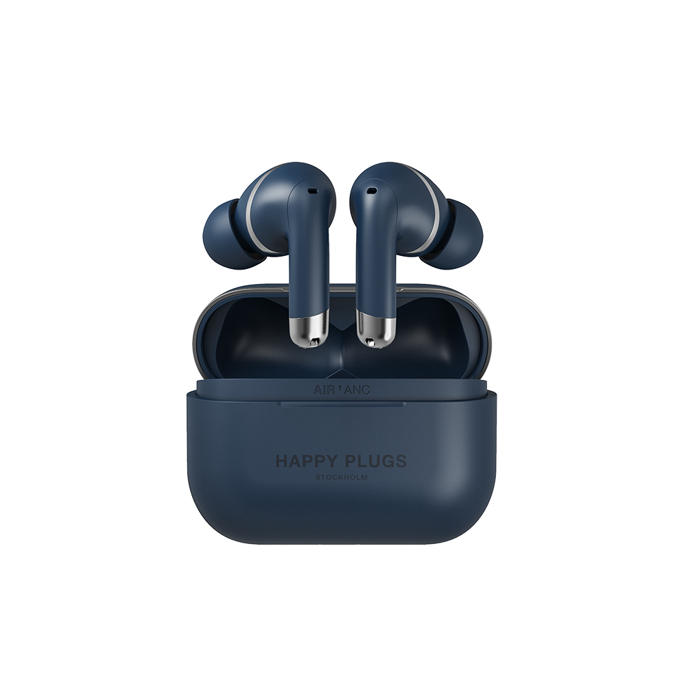 HAPPY PLUGS|Happy Plugs Air 1 ANC 真無線降噪藍牙耳機(海軍藍)