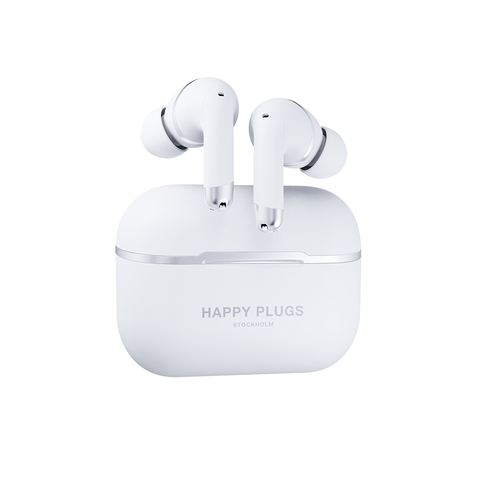 HAPPY PLUGS|Happy Plugs Air 1 ANC 真無線降噪藍牙耳機(羽翼白)
