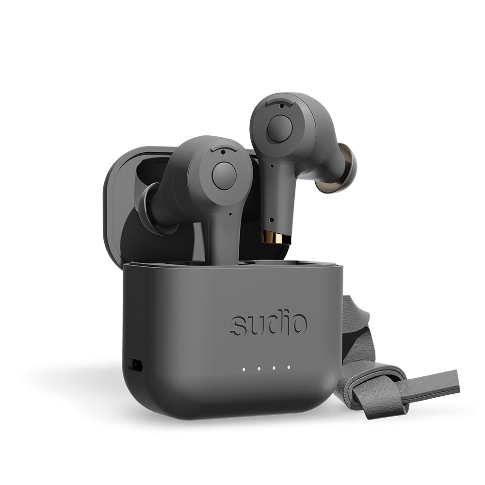 SUDIO ETT 真無線抗噪藍牙耳機2020新色(炭灰)