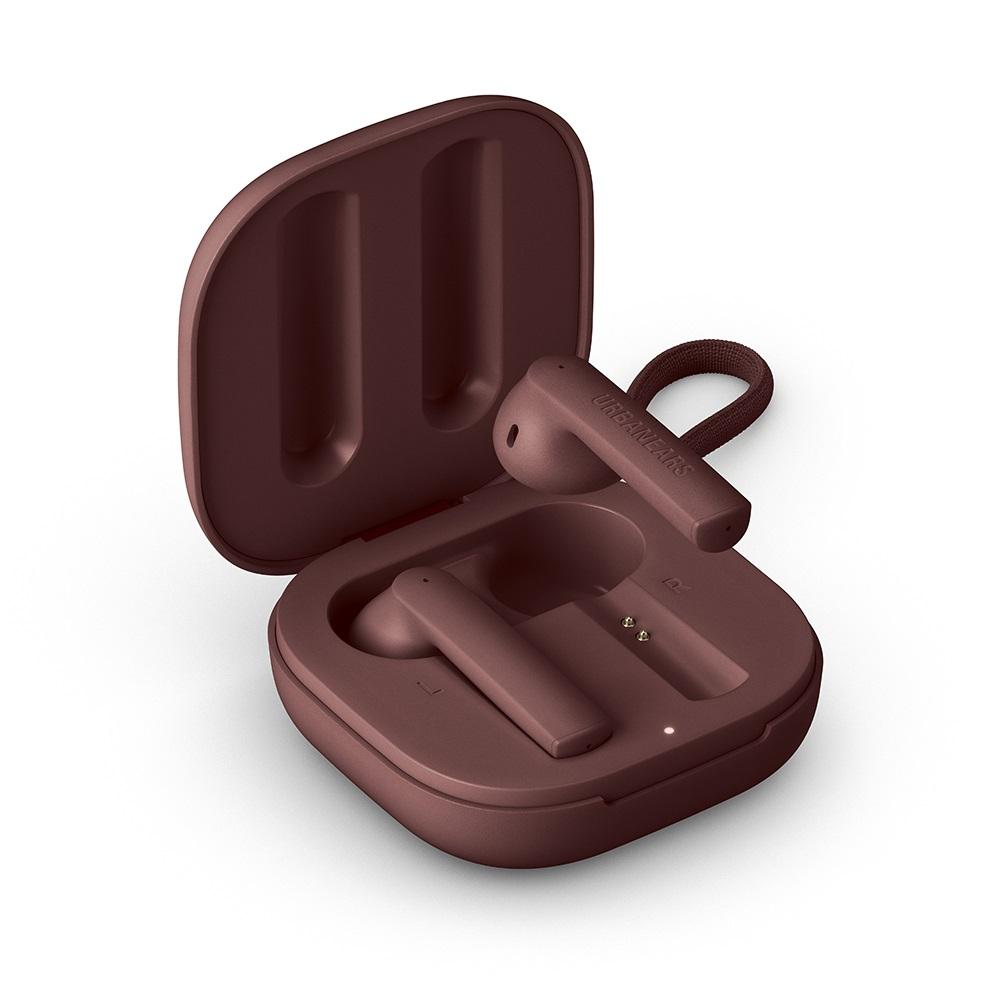 URBANEARS|Luma 耳塞式啞光真無線藍牙耳機(褐紫紅)