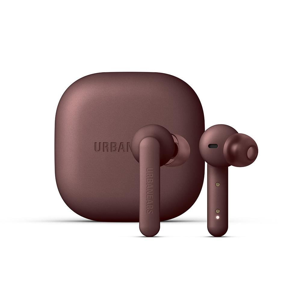 URBANEARS Alby 耳塞式啞光真無線藍牙耳機(褐紫紅)