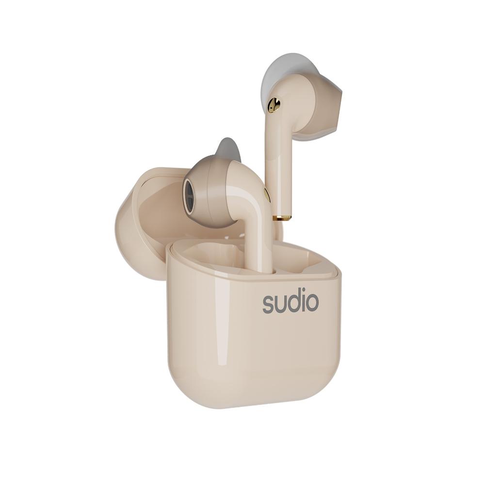 SUDIO|Nio 真無線藍牙耳機(沙色)