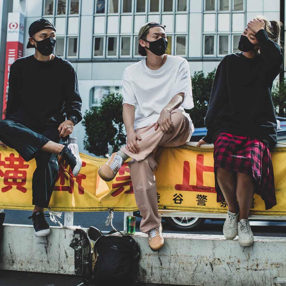 Airinum|Urban Air Mask 2.0 口罩(瑪瑙黑)