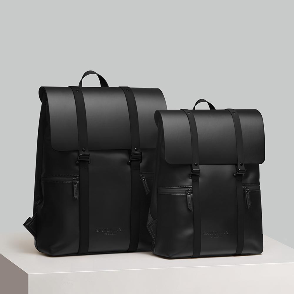 Gaston Luga Splash 16吋大容量個性後背包(經典黑)