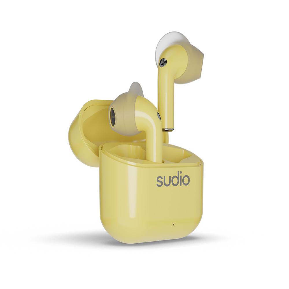 SUDIO|Nio 真無線藍牙耳機(檸檬黃Lemon)
