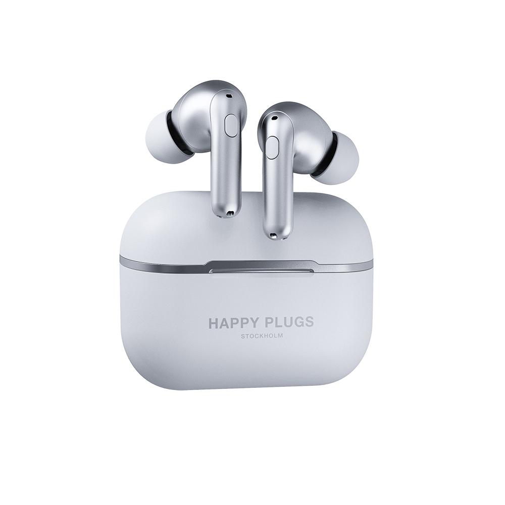 Happy Plugs Air 1 Zen 真無線藍牙耳機(太空銀)