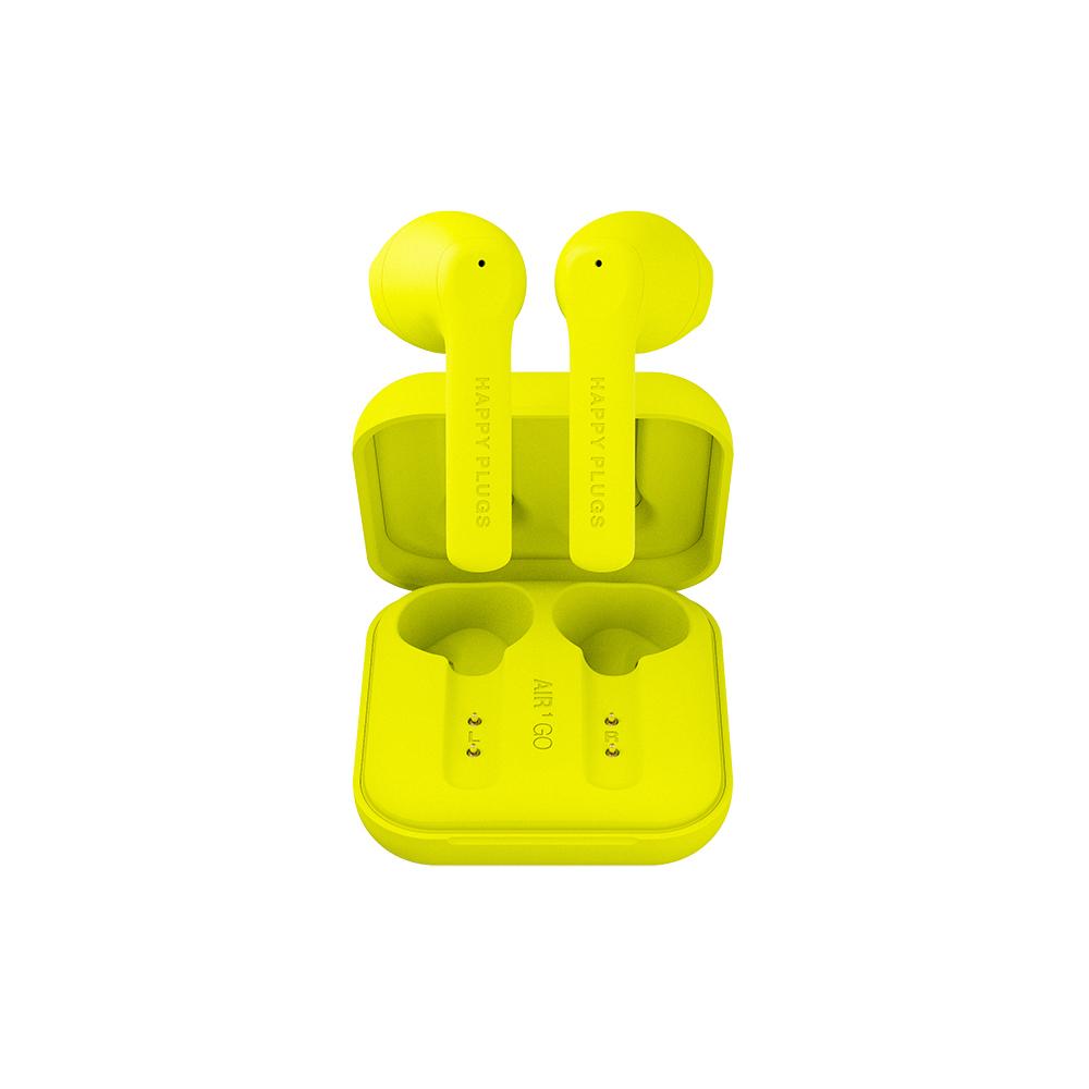 HAPPY PLUGS Air 1 Go 真無線藍牙耳機 - 霓光黃