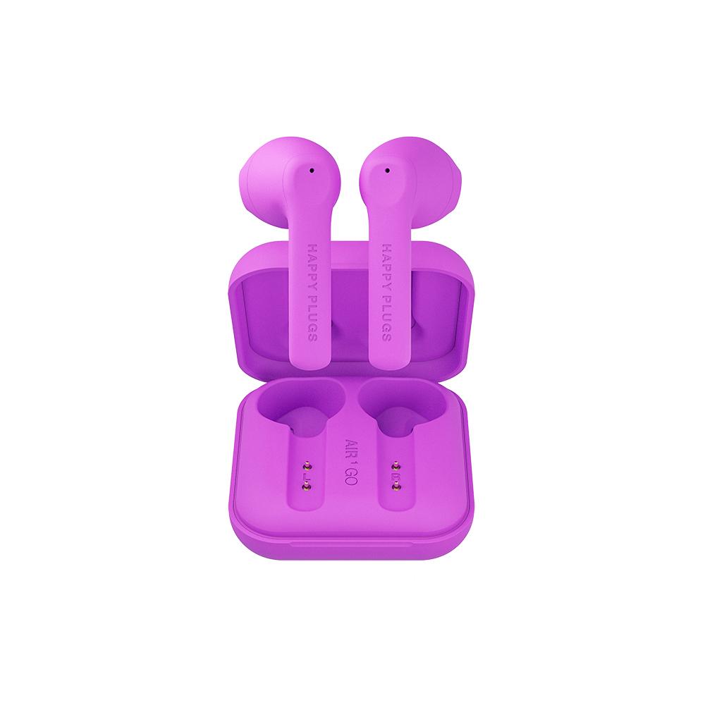 HAPPY PLUGS Air 1 Go 真無線藍牙耳機 - 霓光紫
