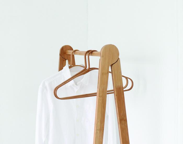 Gudee | CAKON 極簡原味設計竹衣架