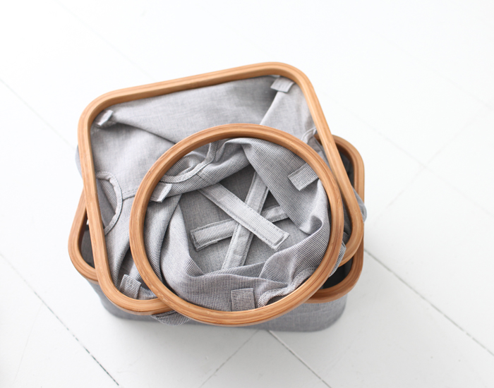 Gudee | Frasa 竹布收納籃 (圓形)