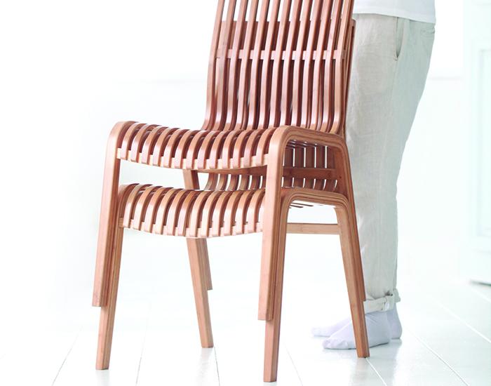 Gudee   RAFFLES 簡約竹椅