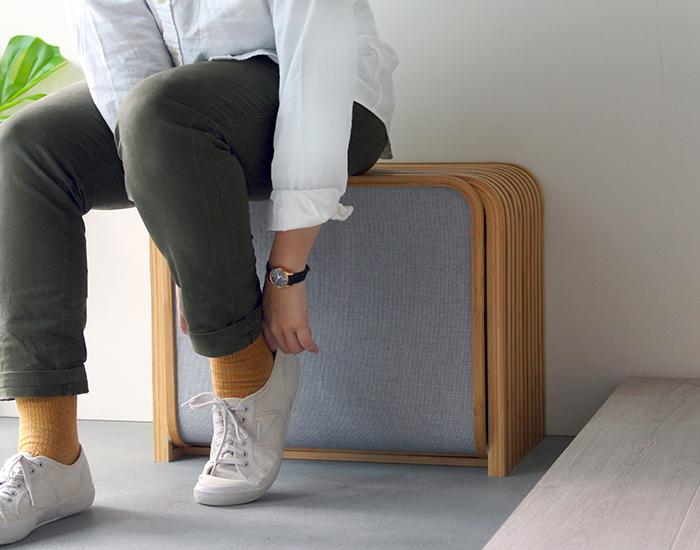 TOLIN 雙層收納鞋凳