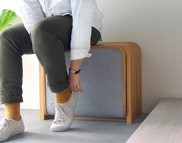 Gudee | TOLIN 雙層收納鞋凳