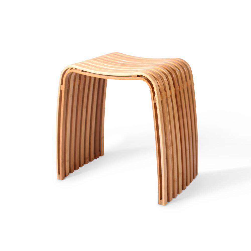 GUDEE | COLIN 弧形凳 (原竹色)