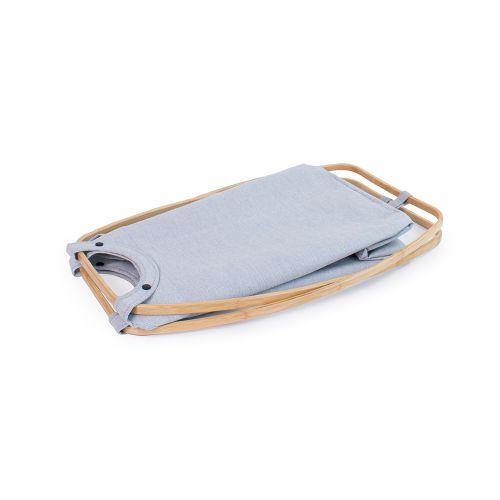 Gudee|BUTTERFLY II 肩背洗衣籃 (竹框+布套)