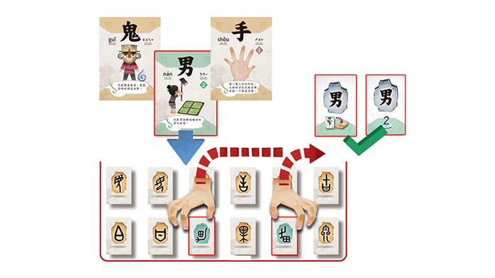 桌遊愛樂事 EmperorS4 漢字傳說