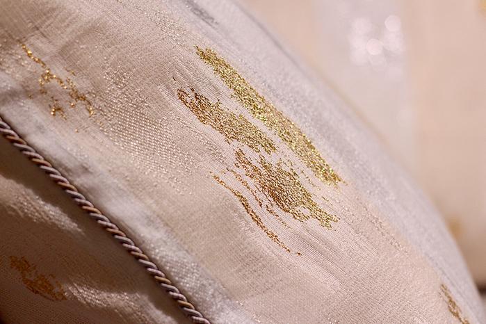 MULA DECO|金銀蔥編織手工抱枕 50cm