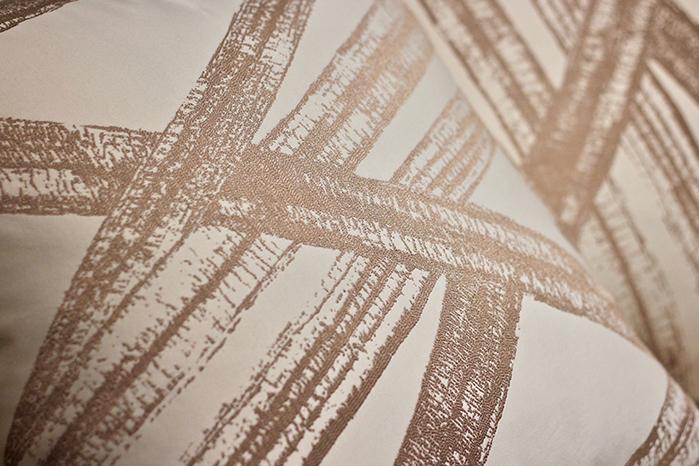 MULA DECO|金葉交織浮雕手工抱枕 50cm