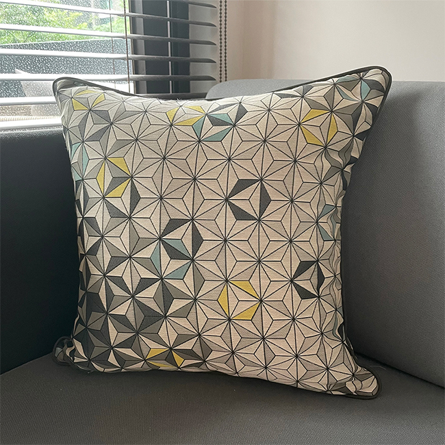 (複製)MULA DECO|義大利手工棉提花抱枕 50cm