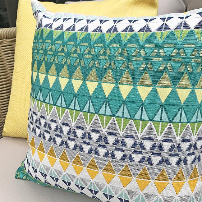 (複製)MULA DECO|色彩幾何手工抱枕 45cm