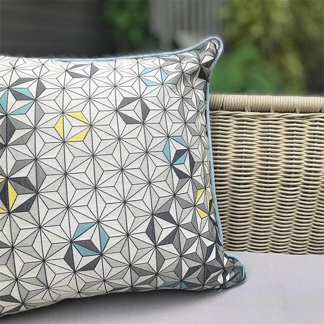 MULA DECO|現代幾何手工抱枕 50cm