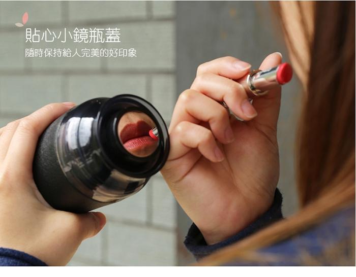 EILONG台灣宜龍|輕瓷保溫瓶300ml(星空黑)
