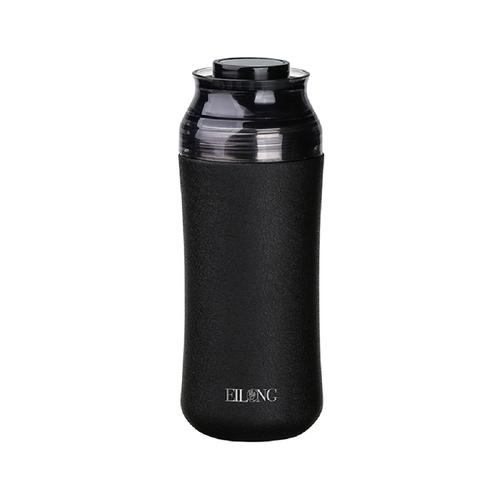 EILONG台灣宜龍|輕瓷保溫瓶300ml  (星空黑)