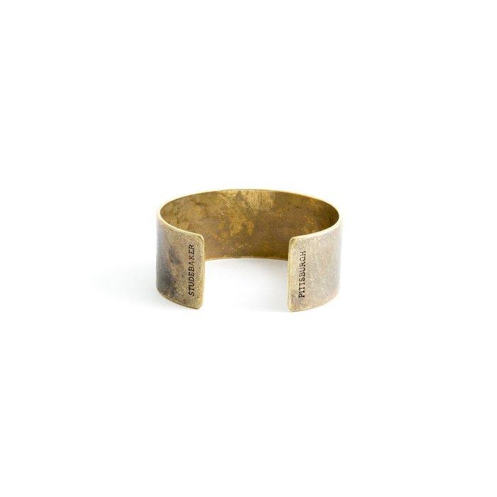 Studebaker Metals|Broad Cuff 手工黃銅手環