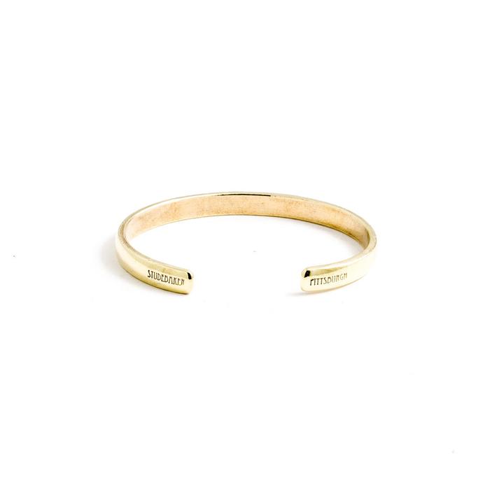 Studebaker Metals|Lodge Cuff 手工鍛造黃銅手環
