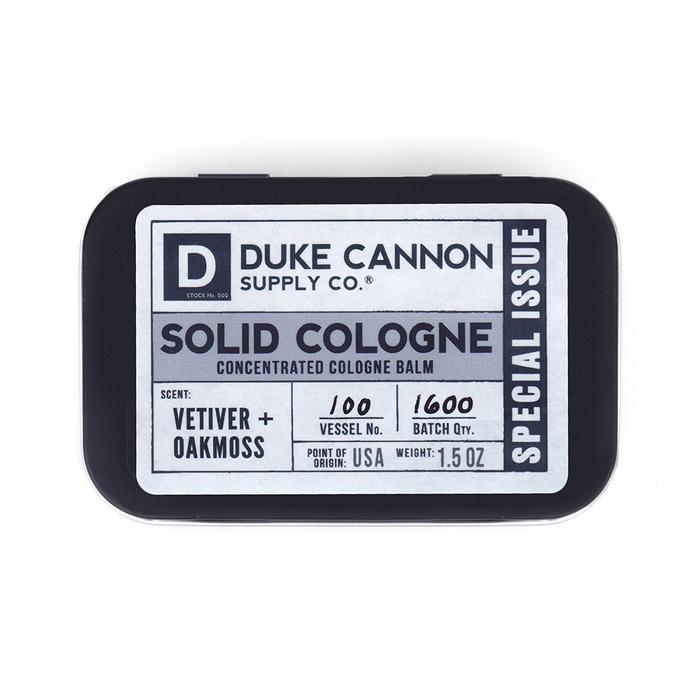 (複製)Duke Cannon 「波本威士忌」有機固態古龍水