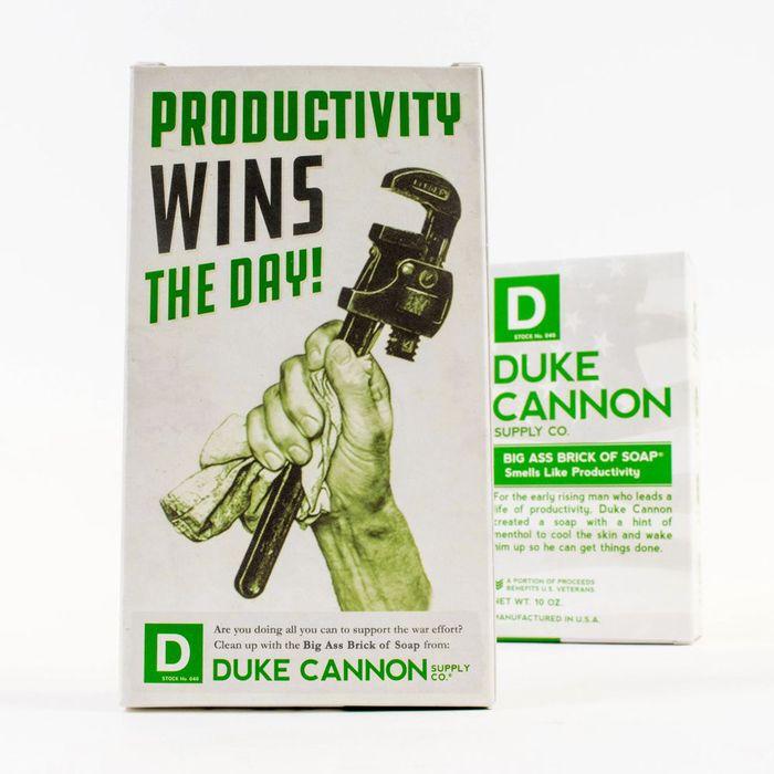 (複製)Duke Cannon BIG ASS 美軍「超能幹」大肥皂 (海軍) 二戰紀念包裝