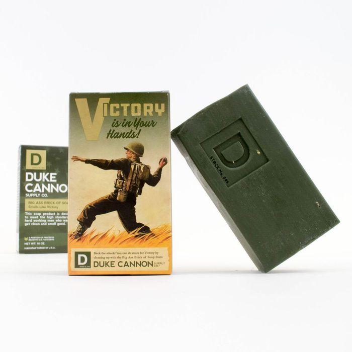 (複製)Duke Cannon|BIG ASS 美軍「超能幹」大肥皂 (白色) 二戰紀念包裝