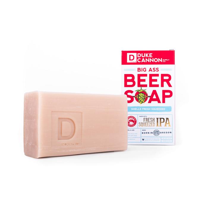 (複製)Duke Cannon BIG ASS 美軍「超能幹」大肥皂 (白色) 二戰紀念包裝