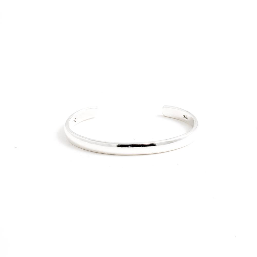 Studebaker Metals|Lodge Cuff 手工鍛造純銀手環